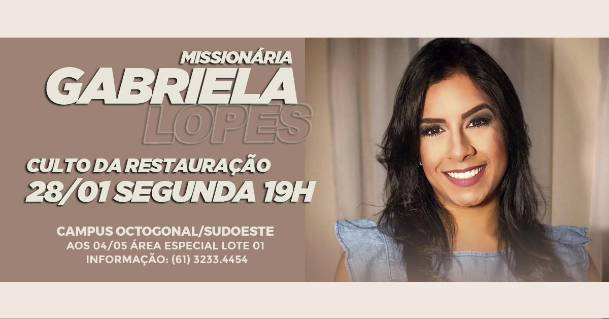 GABRIELA LOPES - restauracao