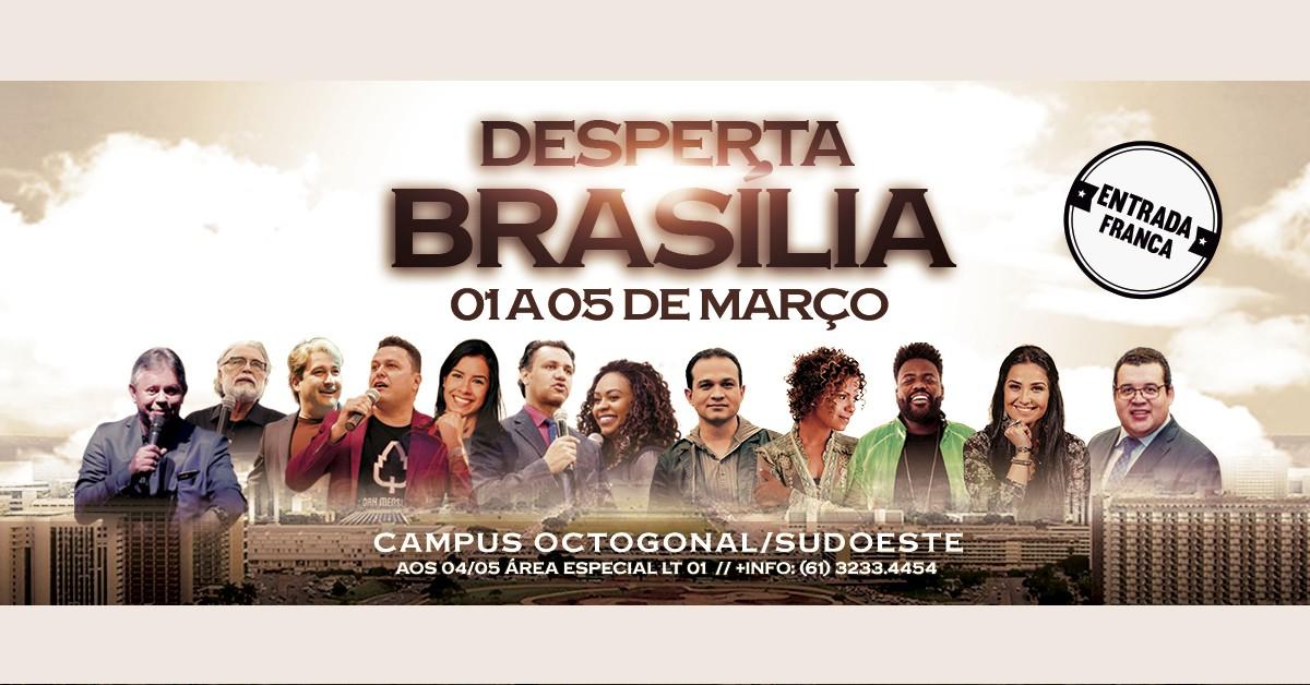 desperta brasilia