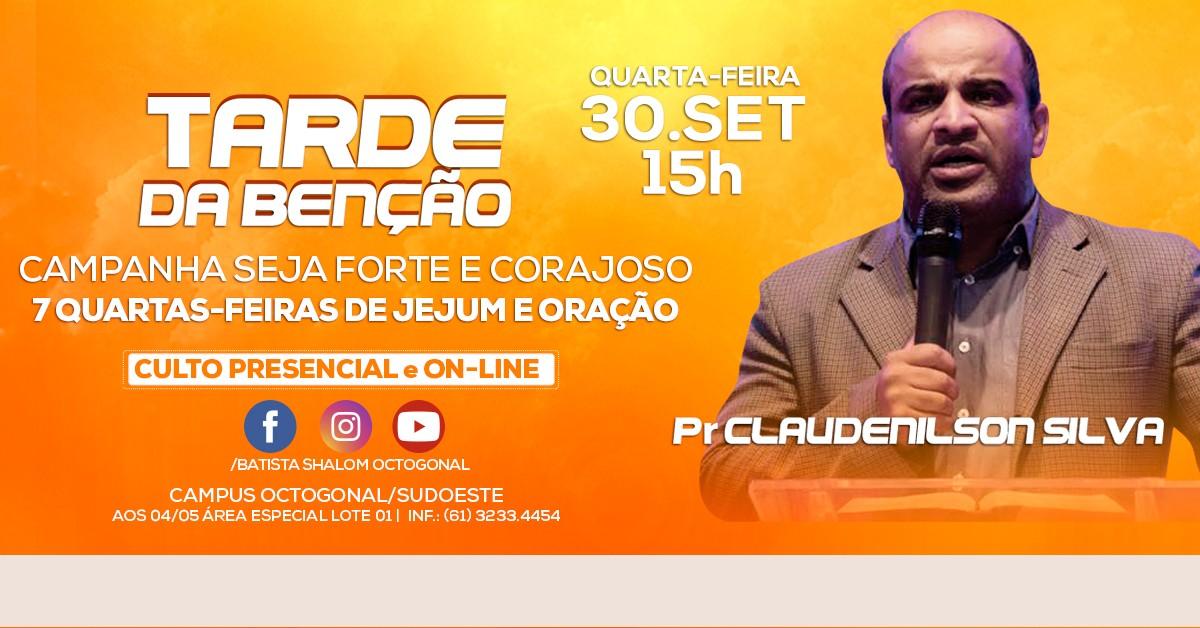 TARDE DA BENÇAO