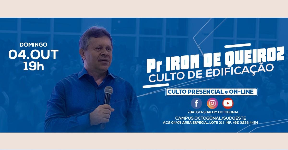CULTO DE EDIFICACÃO